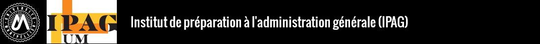 Institut de préparation à l'administration générale (IPAG) Logo